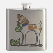 Brittany Camo Boots Flask