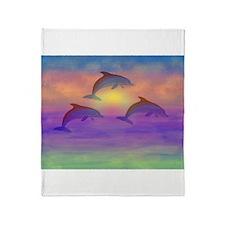 Dolphin Dream Throw Blanket