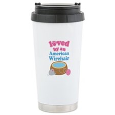 Loved By An American Wirehair Travel Mug