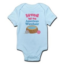 Loved By An American Wirehair Infant Bodysuit