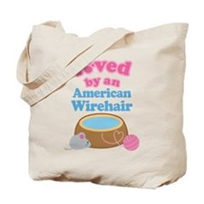Loved By An American Wirehair Tote Bag