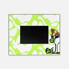 Brittany Lime Camo Picture Frame