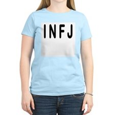 INFJ 2-Sided Women's Pink T-Shirt