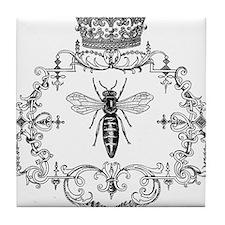 Vintage Queen Bee Tile Coaster