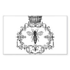 Vintage Queen Bee Decal