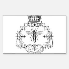 Vintage Queen Bee Decal