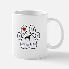 Cute Pit bull design Mug
