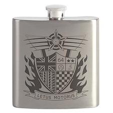 Cute British motoring Flask