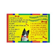Property Laws -BorderCollie Magnets
