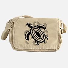 Cut Out Turtle Messenger Bag