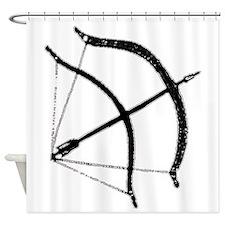 DH Bow Shower Curtain