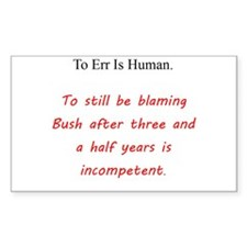 To Err Is Human Decal