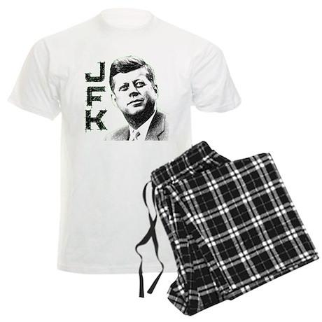 JFK Sketch Men's Light Pajamas