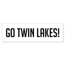 Go Twin Lakes Bumper Bumper Sticker
