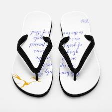 TheEulogyWeb: Heavenly Joy design #1 Flip Flops