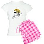 wiggo_blackyellow_3.psd Women's Light Pajamas