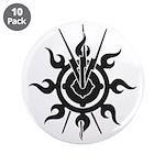 """Acheron Symbol 3.5"""" Button (10 pack)"""