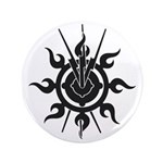 "Acheron Symbol 3.5"" Button"