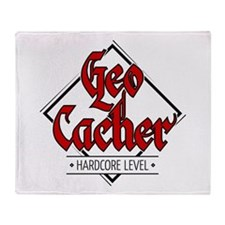 Geocacher - Hardcore Level Throw Blanket