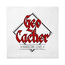 Geocacher - Hardcore Level Queen Duvet