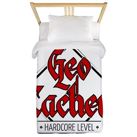 Geocacher - Hardcore Level Twin Duvet