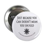"""Ash saying 2.25"""" Button (100 pack)"""