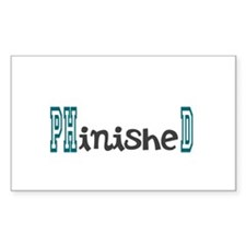 PhinisheD Decal