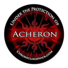Acheron Protection Round Car Magnet