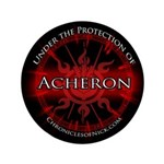 "Acheron Protection 3.5"" Button (100 pack)"
