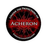 """Acheron Protection 3.5"""" Button"""