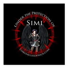 Simi Square Car Magnet 3