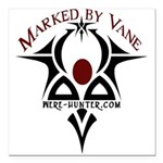 Marked by Vane Square Car Magnet 3