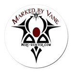 Marked by Vane Round Car Magnet