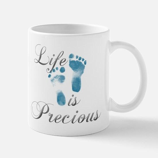 Life is Precious Mug