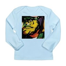 Franz Marc Tiger Long Sleeve Infant T-Shirt