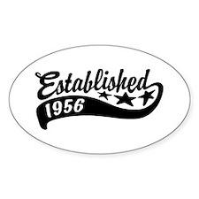 Established 1956 Decal