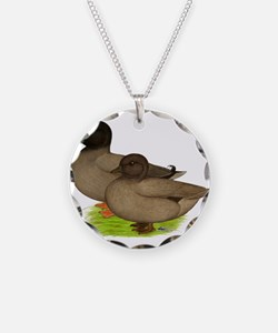 Khaki Call Ducks Necklace