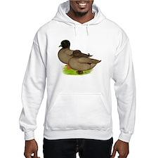 Khaki Call Ducks Hoodie