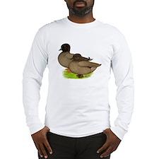 Khaki Call Ducks Long Sleeve T-Shirt