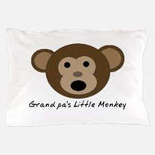 Grandpa's Little Monkey Pillow Case