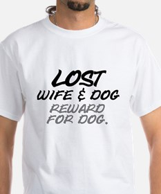 LOST. WIFE AND DOG - REWARD FOR DOG