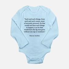 Meditations Book 4 Part 6 Long Sleeve Infant Bodys