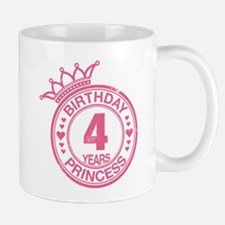 Birthday Princess 4 years Mug