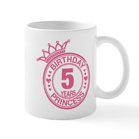 Birthday Princess 5 years Mug