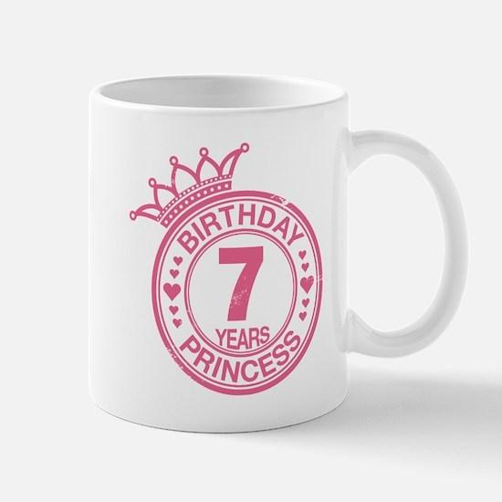 Birthday Princess 7 years Mug