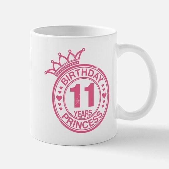 Birthday Princess 11 years Mug