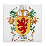 O'Lalor Coat of Arms Tile Coaster
