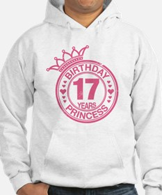 Birthday Princess 17 years Hoodie