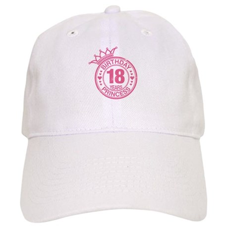 Birthday Princess 18 years Cap