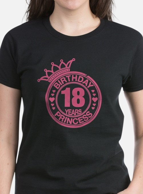 Birthday Princess 18 years Tee